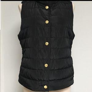 Michael Kors Snap Button Puffer Vest